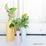 FoekjeFleur: Bottle vases that look like cleaning bottles