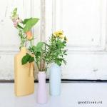 FoekjeFleur: Flesvazen die eruit zien als een schoonmaak fles