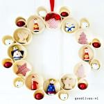 DIY: alternatieve kerstkrans